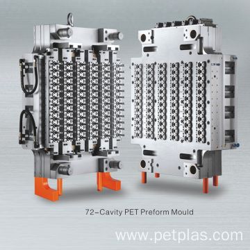 72 cavities  pet preform moulding machine